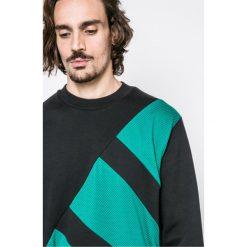 Adidas Originals - Bluza Eqt Block Crew. Szare bluzy męskie adidas Originals. W wyprzedaży za 259.90 zł.