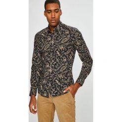 Medicine - Koszula Scandinavian Comfort. Brązowe koszule męskie MEDICINE, z bawełny, z klasycznym kołnierzykiem, z długim rękawem. Za 129.90 zł.