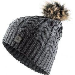 Czapka damska CAD616 - średni szary melanż - Outhorn. Szare czapki i kapelusze damskie Outhorn. Za 34.99 zł.