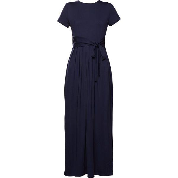 fc84d9f925 WEEKEND MaxMara RIVALTA Długa sukienka blu marino - Sukienki damskie ...