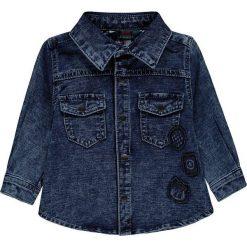 Koszula w kolorze granatowym. Koszule dla chłopców marki bonprix. W wyprzedaży za 47.95 zł.