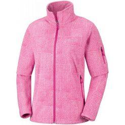 Columbia Bluza Damska Fast Trek Printed Jkt Cactus Pink Sta L. Różowe bluzy damskie Columbia, z polaru. Za 239.00 zł.
