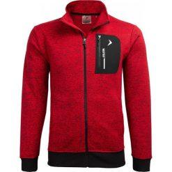 Bluza męska BLM610 - czerwony melanż - Outhorn. Czerwone bluzy męskie Outhorn, melanż. W wyprzedaży za 99.99 zł.