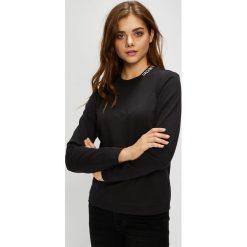 Calvin Klein Jeans - Bluza. Czarne bluzy damskie Calvin Klein Jeans, z bawełny. Za 249.90 zł.