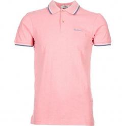 """Koszulka polo """"Romford"""" w kolorze różowym. Czerwone koszulki polo męskie Ben Sherman, z haftami, z bawełny. W wyprzedaży za 108.95 zł."""