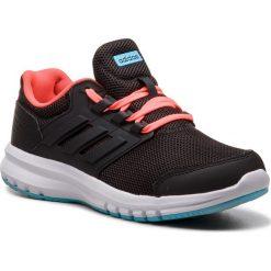 Buty adidas - Galaxy 4 K B75656 Cblack/Cblack/Solred. Czarne obuwie sportowe damskie Adidas, z materiału. Za 179.00 zł.