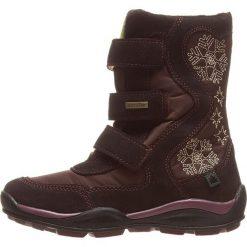 Botki w kolorze brązowym. Botki dziewczęce Zimowe obuwie dla dzieci. W wyprzedaży za 165.95 zł.