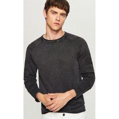 Sweter - Szary. Szare swetry przez głowę męskie Reserved. Za 69.99 zł.