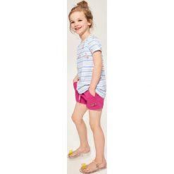 Krótkie spodenki dresowe - Różowy. Spodenki dla dziewczynek marki Reserved. W wyprzedaży za 14.99 zł.