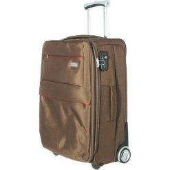 Duża Materiałowa Walizka PUCCINI - EM50642A Khaki. Brązowe walizki męskie Puccini, z materiału. W wyprzedaży za 239.00 zł.