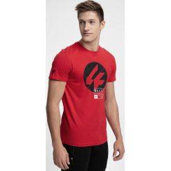 T-shirt męski TSM285 - czerwony. T-shirty męskie marki Giacomo Conti. W wyprzedaży za 39.99 zł.
