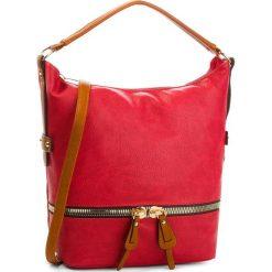 Torebka JENNY FAIRY - RC13127 Red. Czerwone torebki do ręki damskie Jenny Fairy, ze skóry ekologicznej. Za 119.99 zł.