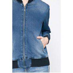 Pepe Jeans - Kurtka bomber Brandy. Brązowe kurtki damskie Pepe Jeans, z bawełny. W wyprzedaży za 319.90 zł.