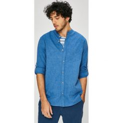 Medicine - Koszula On The Go. Szare koszule męskie MEDICINE, z bawełny, ze stójką, z długim rękawem. W wyprzedaży za 79.90 zł.