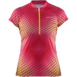 Craft Koszulka Rowerowa Velo Graphic Pink L. Różowe koszulki sportowe damskie Craft, z materiału. Za 199.00 zł.