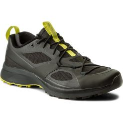 Buty ARC'TERYX -  Norvan Vt M 069532-322534 G0 Titan/Sulphur Spring. Czarne buty sportowe męskie Arc'teryx, z materiału. W wyprzedaży za 449.00 zł.
