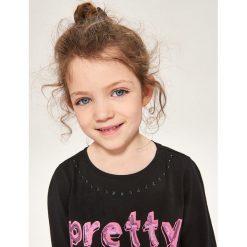T-shirt z napisem pretty in punk - Czarny. T-shirty damskie marki bonprix. W wyprzedaży za 9.99 zł.