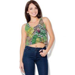 Colour Pleasure Koszulka damska CP-035 271 zielona r. XS-S. T-shirty damskie Colour Pleasure. Za 64.14 zł.