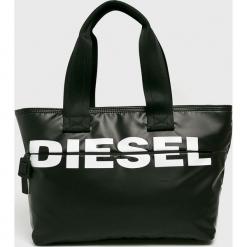 Diesel - Torebka. Czarne torby na ramię damskie Diesel. Za 549.90 zł.