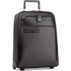 Mała Materiałowa Walizka PIQUADRO - BV2507SI2 Czarny. Czarne walizki damskie Piquadro, z materiału. W wyprzedaży za 859.00 zł.