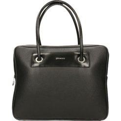 Aktówka MISSISIPI. Czarne torby na laptopa damskie Gino Rossi, ze skóry. W wyprzedaży za 499.90 zł.
