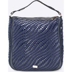 Cavalli Class - Torebka. Szare torebki do ręki damskie Cavalli Class, z materiału. W wyprzedaży za 359.90 zł.