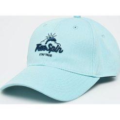 True Spin - Czapka Dolphins. Szare czapki i kapelusze damskie True Spin, z bawełny. W wyprzedaży za 49.90 zł.