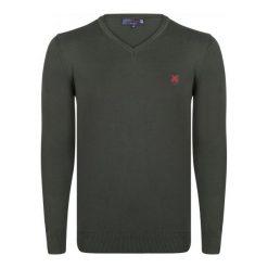 Giorgio Di Mare Sweter Męski Xl Khaki. Brązowe swetry przez głowę męskie Giorgio di Mare, z bawełny. W wyprzedaży za 169.00 zł.