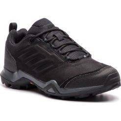 Buty adidas - Terrex Brushwood Leather AC7851 Cblack/Cblack/Grefiv. Czarne buty sportowe męskie Adidas, z materiału. Za 399.00 zł.