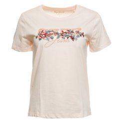 Pepe Jeans T-Shirt Damski Pepa S Łososiowy. Czerwone t-shirty damskie Pepe Jeans, z nadrukiem, z jeansu. Za 169.00 zł.