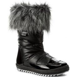 Śniegowce BARTEK - 27385/055 Czarny. Śniegowce dziewczęce Bartek, z lakierowanej skóry. W wyprzedaży za 219.00 zł.