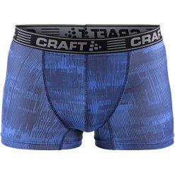 """Craft Męskie Bokserki Greatness 3"""", Niebieskie Z Nadrukiem, M. Niebieskie bielizna termoaktywna męska Craft. Za 69.00 zł."""