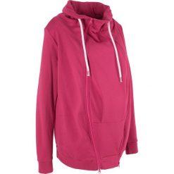 Bluza rozpinana ciążowa z wstawką niemowlęcą bonprix jeżynowy. Bluzy damskie marki Pulp. Za 139.99 zł.