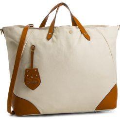 Torebka TWINSET - Shopping Orizzont OS8TAA Bin Dune/Cuoio 02488. Brązowe torebki do ręki damskie Twinset, z materiału. W wyprzedaży za 429.00 zł.