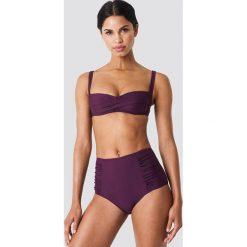 Trendyol Góra bikini z drapowaniem - Purple. Fioletowe bikini damskie Trendyol. W wyprzedaży za 50.48 zł.
