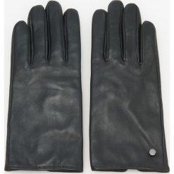 Skórzane rękawiczki - Czarny. Czarne rękawiczki damskie Reserved. Za 79.99 zł.