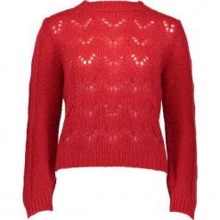 Sweter w kolorze czerwonym. Czerwone swetry damskie Gottardi, ze splotem. W wyprzedaży za 173.95 zł.
