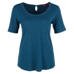 S.Oliver T-Shirt Damski 36 Niebieski. Niebieskie t-shirty damskie S.Oliver. Za 59.00 zł.