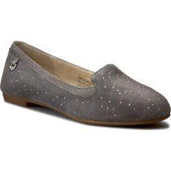 Lordsy UGG - W Bentlie Constellation 1008818 W/Gra. Szare mokasyny damskie UGG, ze skóry. W wyprzedaży za 309.00 zł.