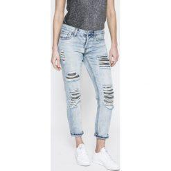 Tally Weijl - Jeansy Jessy. Niebieskie jeansy damskie TALLY WEIJL. W wyprzedaży za 89.90 zł.