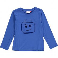 """Koszulka """"Thomas 713"""" w kolorze niebieskim. Niebieskie t-shirty dla chłopców marki Lego Wear Fashion, z nadrukiem, z długim rękawem. W wyprzedaży za 49.95 zł."""