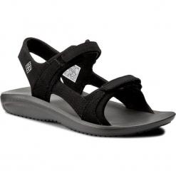 Sandały COLUMBIA - Barraca Sunlight BL4535 Black/White 010. Czarne sandały damskie Columbia, ze skóry ekologicznej. W wyprzedaży za 179.00 zł.