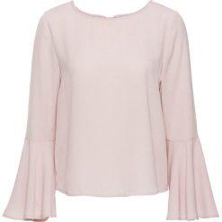 Bluzka z rozkloszowanymi rękawami bonprix różowy. Bluzki damskie marki Colour Pleasure. Za 44.99 zł.