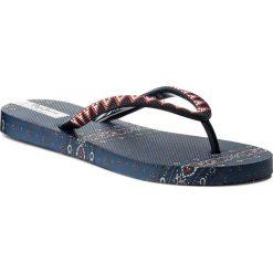 Japonki PEPE JEANS - PLS70029 Marine 585. Niebieskie klapki damskie Pepe Jeans, z jeansu. Za 95.00 zł.