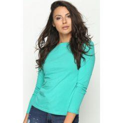 Zielona Bluzka Trust Me. Zielone bluzki damskie Born2be, z długim rękawem. Za 24.99 zł.
