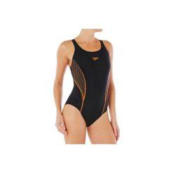 Strój jednoczęściowy pływacki PLACEMENT PANEL damski. Czarne kostiumy jednoczęściowe damskie Speedo. Za 149.99 zł.