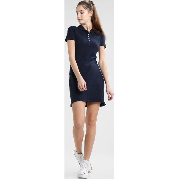 cd61ab1cbf7 Tommy Jeans ESSENTIAL POLO DRESS Sukienka letnia black iris ...