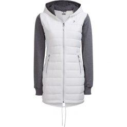 Kurtka puchowa damska KUD607 - biały - Outhorn. Białe kurtki damskie Outhorn, na lato, z bawełny. W wyprzedaży za 109.99 zł.