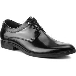 Półbuty LASOCKI FOR MEN - TA-LL40 Black. Czarne eleganckie półbuty Lasocki For Men, z materiału. Za 219.99 zł.