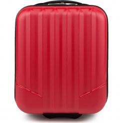 Walizka kabinowa V25-10-232-35. Czerwone walizki damskie Wittchen. Za 79.00 zł.